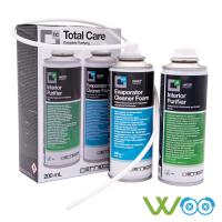 Total-Care Reinigungs-Set Schaum für Verdampfer + Spray für Innenräume
