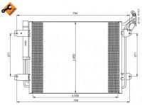 NRF Kondensator, Klimaanlage